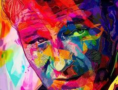 <b>AlessandroPautasso充满艺术感的肖像插画</b>