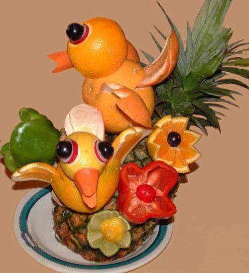 令人稀奇的食品雕塑艺术