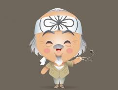 JerrodMaruyama可爱角色设计