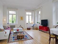 有趣的裝飾元素:北歐風格81平米公寓
