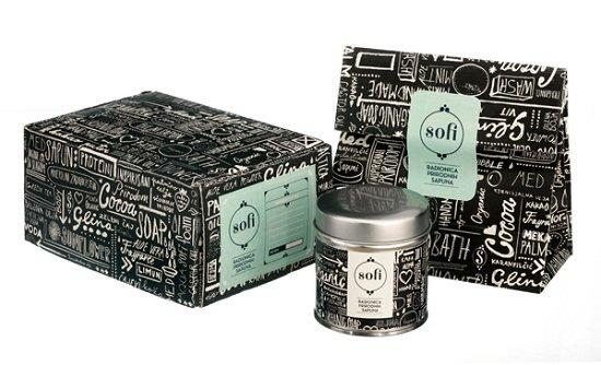 50個黑白創意包裝設計欣賞