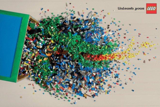 Lego(乐高)歌曲集锦视频(2)积木广告消音图片