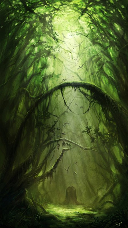 50张精美的森林和热带雨林cg风景欣赏(3) - 设计之家