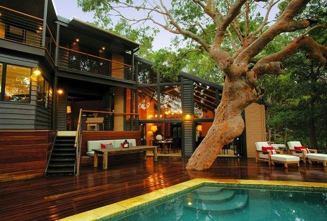 漂亮的悉尼海边森林别墅