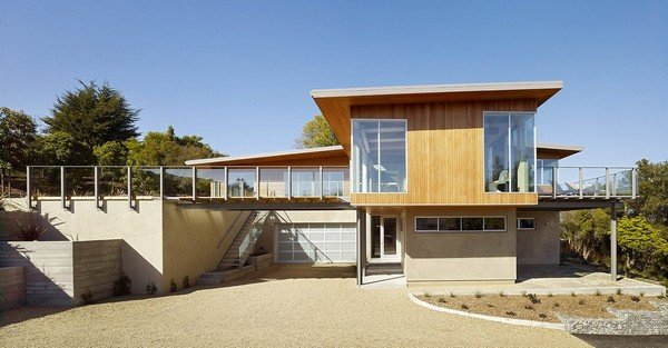 太阳能住宅的完美典范:Tiburon海湾别墅