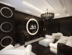 莫斯科复古风格豪华公寓设计