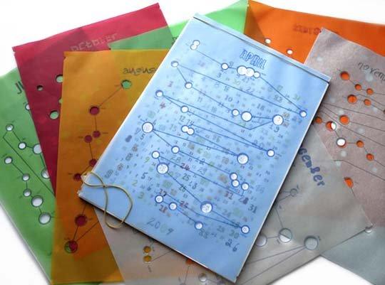 国外创意日历设计作品(3)图片