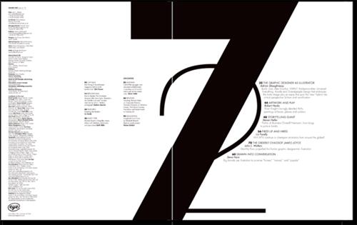 国外一组画册目录页设计欣赏