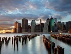 城市风光摄影:美丽的城市天际线