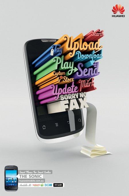 华为手机平面广告图片