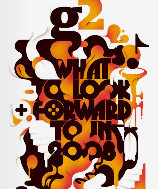 30国外创新字体设计欣赏(3)