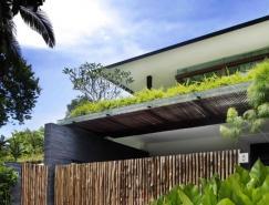 超大的开放空间的自然光线:新加坡Sun豪宅设计