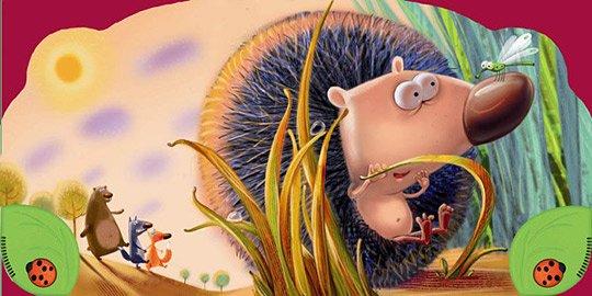 可爱的动物卡通插画作品(4)