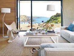 安逸和舒适的西班牙两层海景�K住宅