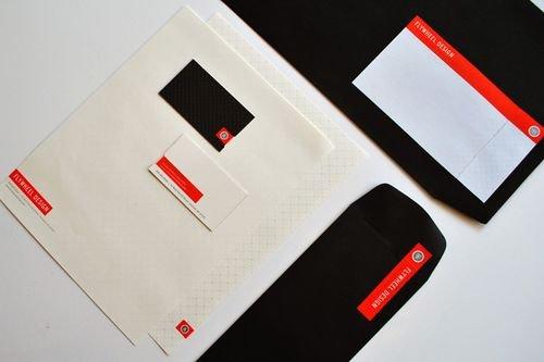 45款国外公司信纸和信封设计(5)