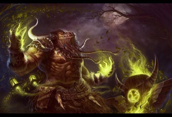 魔兽世界兽人战士_魔兽世界兽人战士CG欣赏(2) - 设计之家