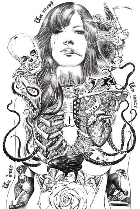 泰国插画师IseAnanphada作品欣赏
