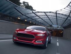 前衛動感的福特Evos概念車