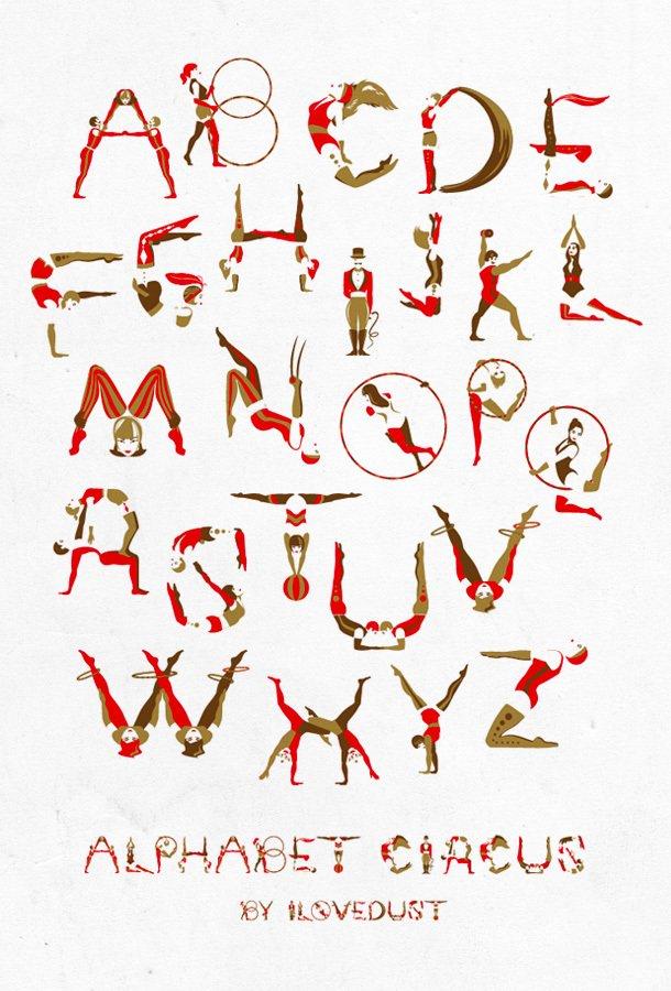 国外漂亮的字体创意设计(3)图片