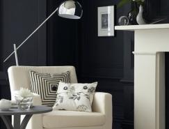 30個精致的黑色現代家居裝修設計