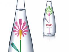 漂亮的限量版依云矿泉水瓶子包装
