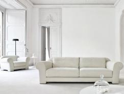 意大利家具设计公司:Busnelli高雅客厅设计
