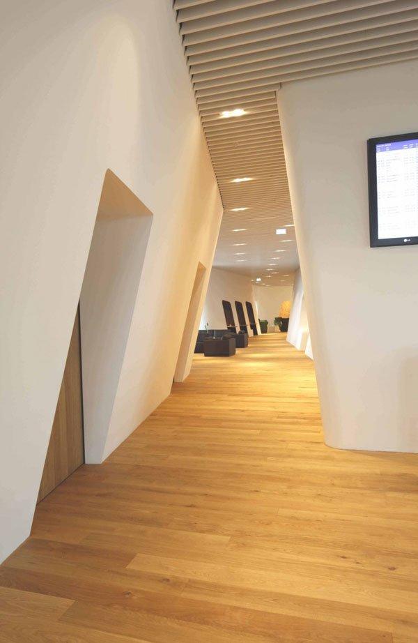 超现代的慕尼黑机场贵宾休息室