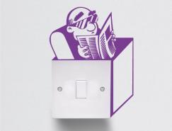 31款創意墻貼設計