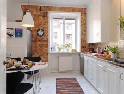 精细的功能划分:42平米小户型公寓设计