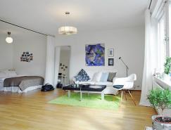 舒適溫馨的44平米小公寓設計
