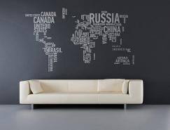 个性创意的墙贴欣赏