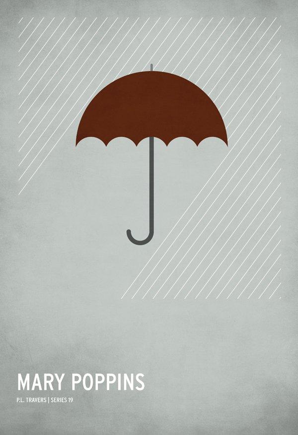 christian jackson极简风格童话海报(2) - 设计之家