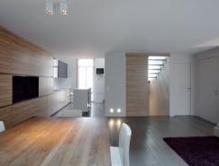 摩纳哥一套复式公寓室内设计