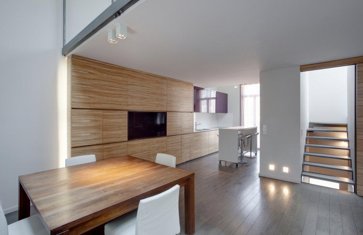 摩纳哥一套复式公寓室内设计 设计之家
