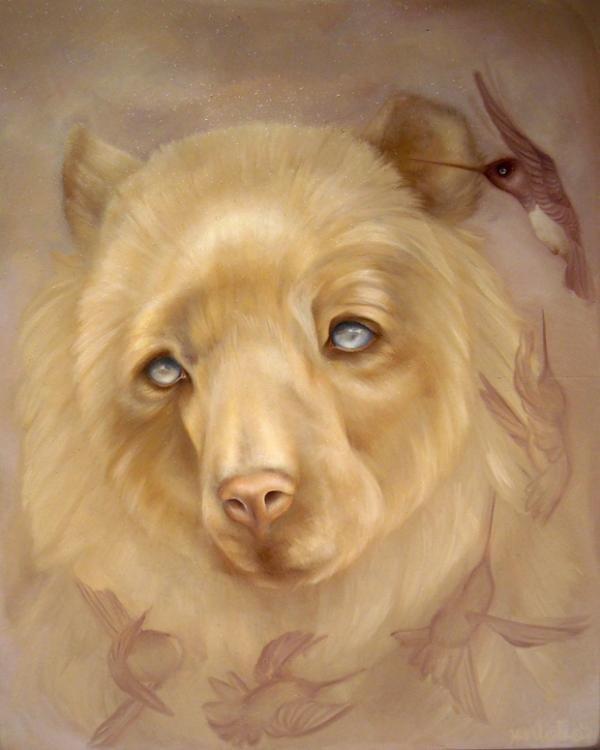 jen lobo动物绘画作品