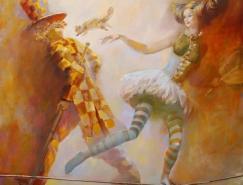 白俄罗斯画家OlegTchoubakov作品欣赏