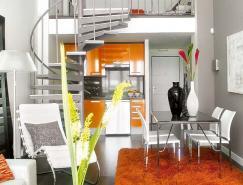 明亮的色彩空间:小户型LOF