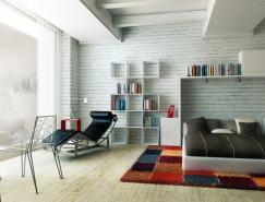 現代時尚的臥室效果圖設計