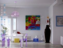 Pixel3D唯美簡約的室內設計欣賞