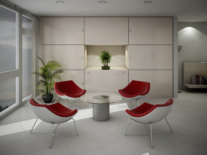 Pixel3D唯美简约的室内设计欣赏