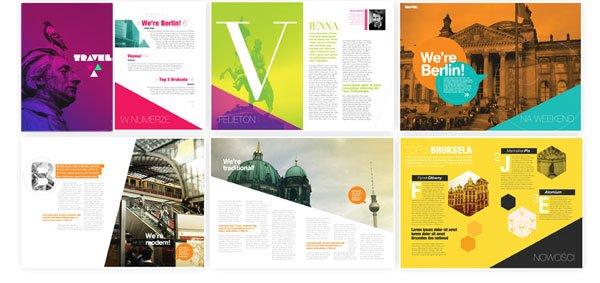 20个创意杂志版式设计(2)图片