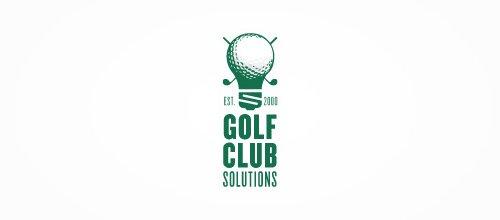 logo设计; 高尔夫球logo设计欣赏;