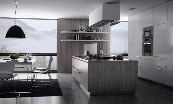 灰色低调的极简风格室内设计(2)