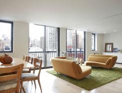 纽约现代复式公寓设计