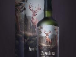 乌克兰UmbraDesign创意酒标