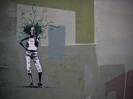 国外创意街头涂鸦艺术(3) - 设计之家