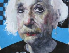 AkiraBeard名人肖像插画