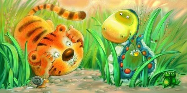 irina可爱的动物卡通插画(2)