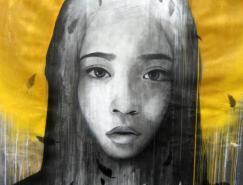 BenSlow街头绘画艺术