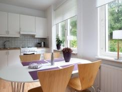98平米清新白色公寓设计